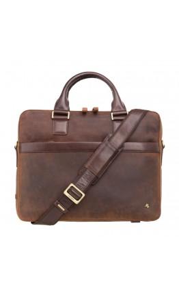 Мужская винтажная сумка Visconti TC88 Victor 13 (Havana Tan-mln)