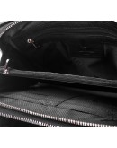 Фотография Черный мужской клатч, кожаный TF69127A