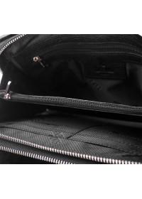 Черный мужской клатч, кожаный TF69127A
