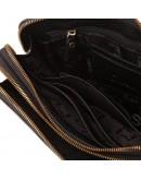 Фотография Клатч мужской кожаный черного цвета TF69413A