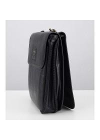 Мессенджер черный мужской кожаный TF69819-1A