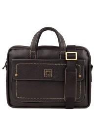 Черная сумка из натуральной кожи мужская TF69840-7A