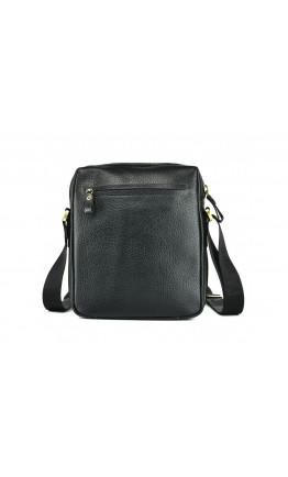 Черная кожаная мужская сумка на плечо Tifenis TF69856-5CR