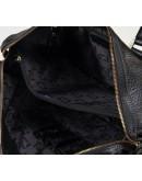 Фотография Черный мужской портфель, шикарная кожа Tifenis TF69918-3A
