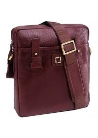 Коричневая сумка на плечо, кожаная Tifenis TF69930-2C