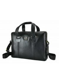 Кожаная сумка для небольшого ноутбука Tifenis TF69962-2A