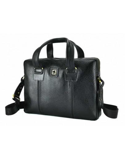 Фотография Кожаная сумка для небольшого ноутбука Tifenis TF69962-2A