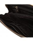 Фотография Мужской клатч кожаный черного цвета TF69997-2A