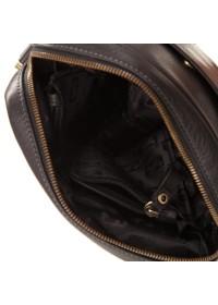Черная мужская наплечная сумка без клапана TF70053-2A