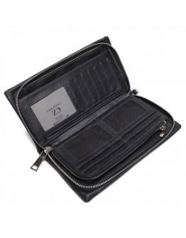 Черный мужской кожаный клатч TR2M-823