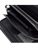 Фотография Черный клатч мужской кожаный повседневный TR2M-893