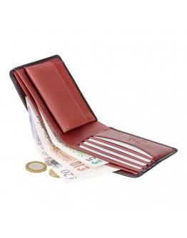 Черно-красный кошелек Visconti TR30 Raffle c RFID (Black Red)
