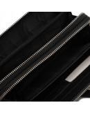 Фотография Кожаный мужской клатч черного цвета TR5M-895