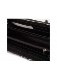 Клатч мужской кожаный черный TR7337A