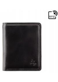 Черное портмоне Visconti TSC39 Xavi c RFID (Black)
