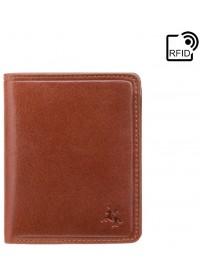 Мужское портмоне Visconti TSC39 Xavi c RFID (Tan)