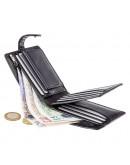 Фотография Вместительный кошелек Visconti TSC42 Arezzo c RFID (Black)