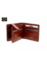 Светло-коричневое мужское портмоне Visconti TSC43 Montieri (Tan)