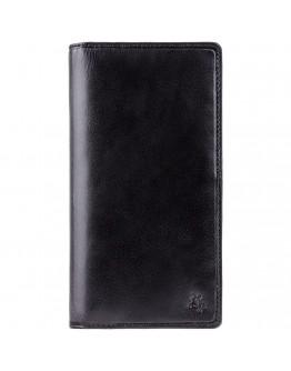 Мужское портмоне-купюрник Visconti TSC45 Carrara c RFID (Black)