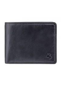 Черный кожаный кошелек Visconti TSC46 Francesca c RFID (Black)