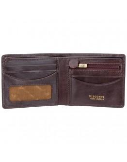 Коричневый мужской кошелек Visconti TSC46 Francesca c RFID (Brown)