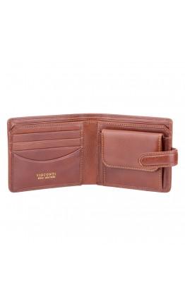 Мужской коричневый кошелек Visconti TSC47 Riccardo c RFID (Tan)