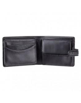Удобный черный кошелек Visconti TSC48 Filipo c RFID (Black)