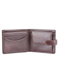 Коричневый кожаный кошелек Visconti TSC48 Filipo c RFID (Brown)
