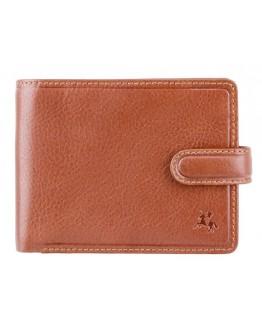 Рыжий мужской кошелек Visconti TSC48 Filipo c RFID (Tan)