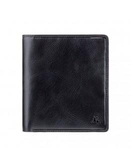 Черный кожаный кошелек Visconti TSC49 Matteo c RFID (Black)
