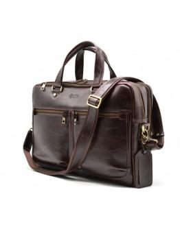 Кожаная мужская деловая сумка Tarwa TX-4664-4lx
