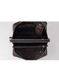 Коричневый кожаный клатч Tifenis Tf69147C