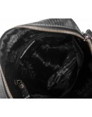 Фотография Черный мужской мессенджер, кожаный Tifenis Tf69918-1A