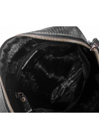 Черный мужской мессенджер, кожаный Tifenis Tf69918-1A