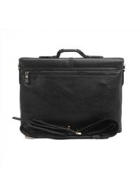 Кожаный черный мужской портфель Tifenis Tf69953-3A