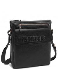 Черная мужская сумка на плечо, кожаная Tifenis Tf69978-2A