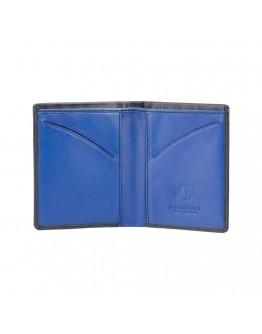 Черный кошелек Visconti VSL21 Saber c RFID (Black Cobalt)