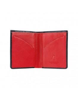 Кошелек черный Visconti VSL21 Saber c RFID (Black Red)