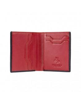 Мужской кошелек Visconti VSL26 Javelin c RFID (Black Red)