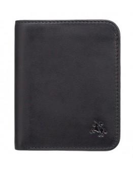 Мужское небольшое портмоне Visconti VSL34 Lank c RFID (Black-Cobalt)