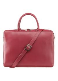 Красная женская сумка дипломат Visconti 18427 Ollie (Red)