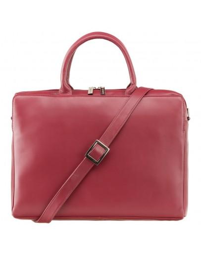 Фотография Красная женская сумка дипломат Visconti 18427 Ollie (Red)