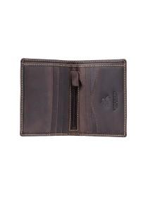 Маленький мужской кошелёк Visconti 705 - Arrow (Oil Brown)
