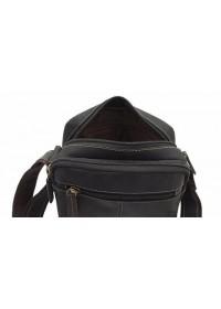 Мужская коричневая сумка, кожаная Visconti S8 (oil brown)