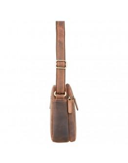 Мужская сумка на плечо, песочная Visconti S8 (oil tan)