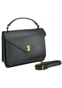 Кожаная женская деловая сумка W12-813L-A