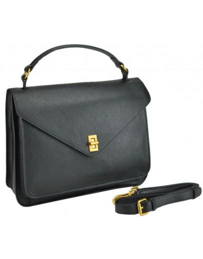 Фотография Кожаная женская деловая сумка W12-813L-A