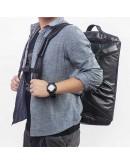 Фотография Кожаная мужская дорожная сумка трансформер X-6010A