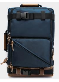 Синий рюкзак из прочной качественной ткани YBP-024BU