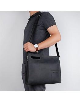 Черная сумка - папка для документов и ноутбука A0011AL